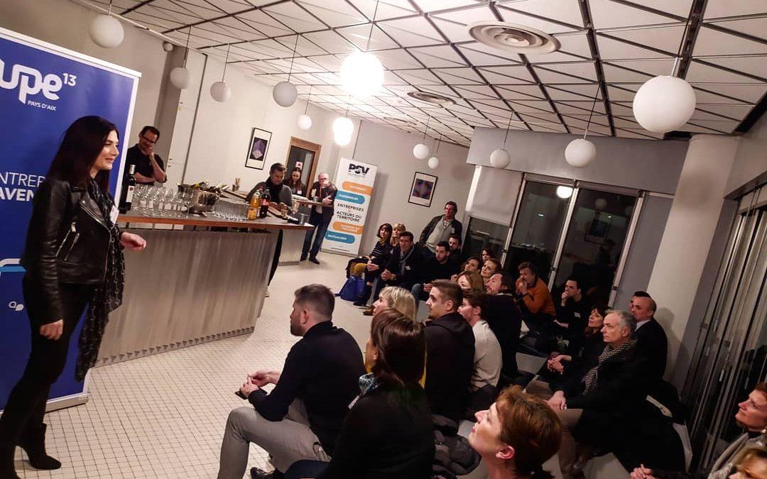 Retour en images sur l'Afterwork Smart Business du 10 février en partenariat avec UPE 13.