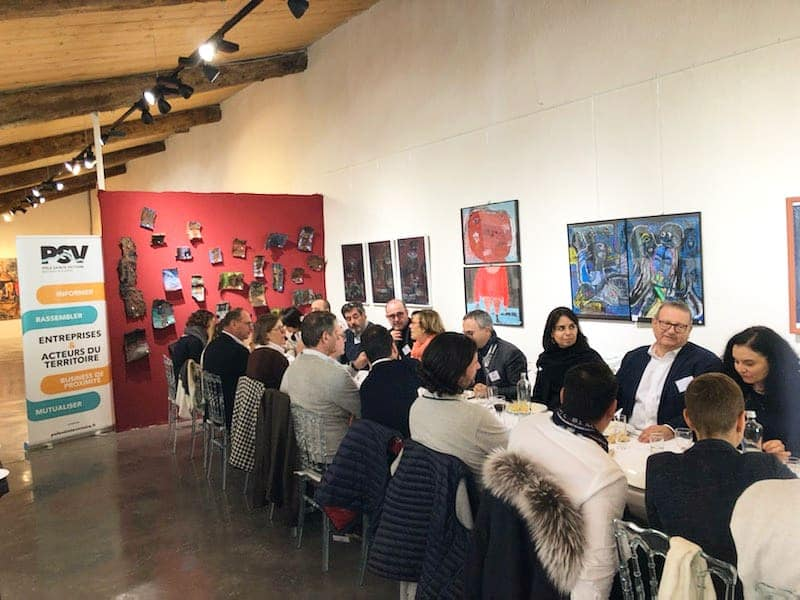 Retour en images sur le déj du mercredi 12 février, privatisé au sein de la Galerie La Galante à Meyreuil. Un lieu exceptionnel pour un agréable moment en compagnie du traiteur l'Atelier des Gourmands !